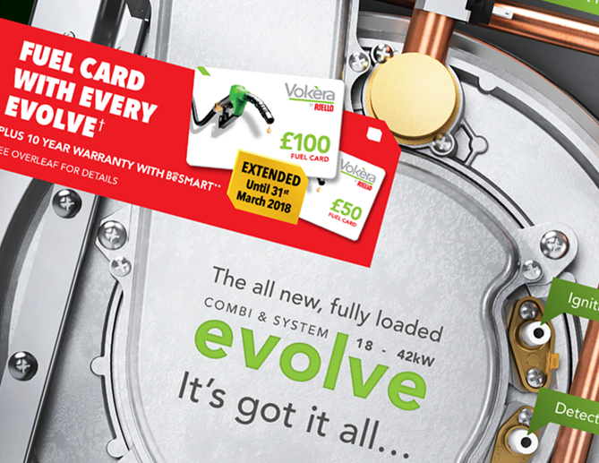 image of evolve fuel promotion